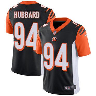 Nike Bengals #94 Sam Hubbard Black Team Color Men's Stitched NFL Vapor Untouchable Limited Jersey