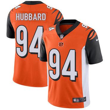 Nike Bengals #94 Sam Hubbard Orange Alternate Men's Stitched NFL Vapor Untouchable Limited Jersey