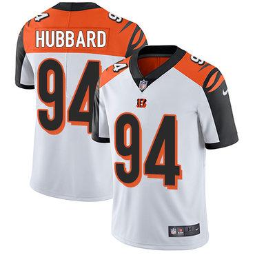 Nike Bengals #94 Sam Hubbard White Men's Stitched NFL Vapor Untouchable Limited Jersey