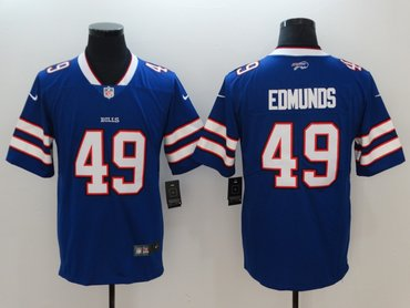 Nike Bills 49 Tremaine Edmunds Royal Vapor Untouchable Limited Jersey