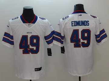 Nike Bills 49 Tremaine Edmunds White Vapor Untouchable Limited Jersey