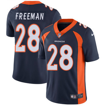 Nike Broncos #28 Royce Freeman Navy Blue Alternate Men's Stitched NFL Vapor Untouchable Limited Jersey
