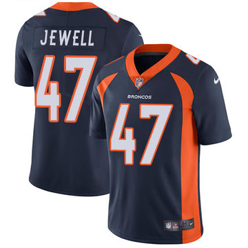 Nike Broncos #47 Josey Jewell Navy Blue Alternate Men's Stitched NFL Vapor Untouchable Limited Jersey