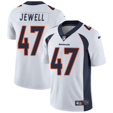 Nike Broncos #47 Josey Jewell White Men's Stitched NFL Vapor Untouchable Limited Jersey