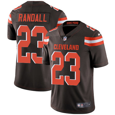 Nike Browns #23 Damarious Randall Brown Team Color Youth Stitched NFL Vapor Untouchable Limited Jersey