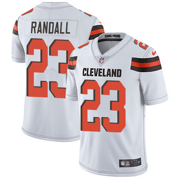 Nike Browns #23 Damarious Randall White Youth Stitched NFL Vapor Untouchable Limited Jersey