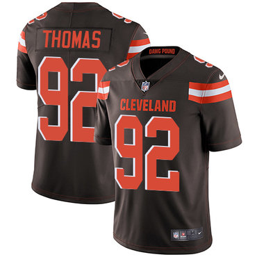 Nike Browns #92 Chad Thomas Brown Team Color Men's Stitched NFL Vapor Untouchable Limited Jersey