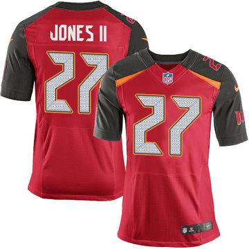 Nike Buccaneers #27 Ronald Jones II Red Team Color Men's Stitched NFL New Elite Jersey