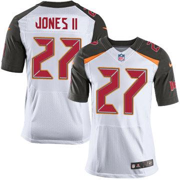 Nike Buccaneers #27 Ronald Jones II White Men's Stitched NFL New Elite Jersey