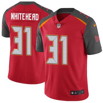 Nike Buccaneers #31 Jordan Whitehead Red Team Color Men's Stitched NFL Vapor Untouchable Limited Jersey