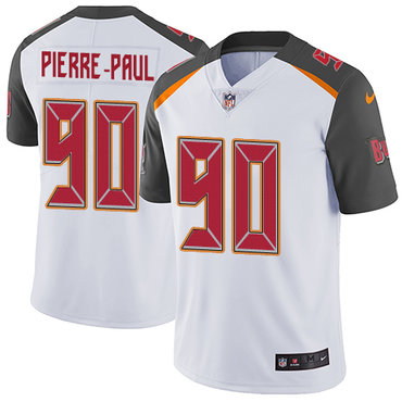 Nike Buccaneers #90 Jason Pierre-Paul White Youth Stitched NFL Vapor Untouchable Limited Jersey
