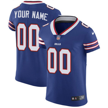 Nike Buffalo Bills Elite Royal Blue Home Men's Jersey NFL Vapor Untouchable Customized jerseys