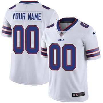 Nike Buffalo Bills Elite White Road Youth Jersey NFL Vapor Untouchable Customized jerseys