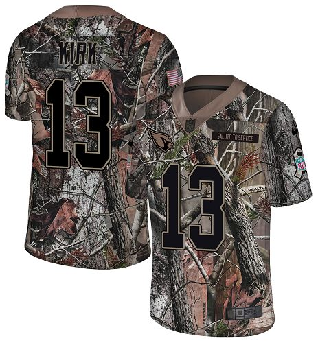 Nike Cardinals #13 Christian Kirk Camo Men's Stitched NFL Limited Rush Realtree Jersey