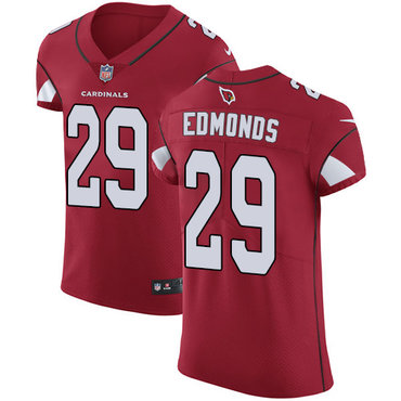 Nike Cardinals #29 Chase Edmonds Red Team Color Men's Stitched NFL Vapor Untouchable Elite Jersey