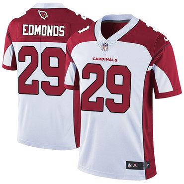 Nike Cardinals #29 Chase Edmonds White Men's Stitched NFL Vapor Untouchable Limited Jersey