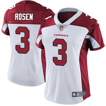 Nike Cardinals #3 Josh Rosen White Women's Stitched NFL Vapor Untouchable Limited Jersey