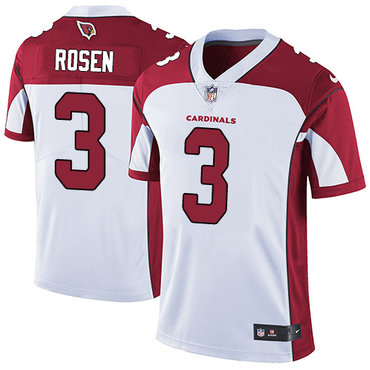 Nike Cardinals #3 Josh Rosen White Youth Stitched NFL Vapor Untouchable Limited Jersey