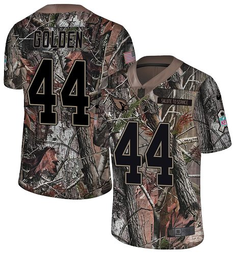 Nike Cardinals #44 Markus Golden Camo Men's Stitched NFL Limited Rush Realtree Jersey
