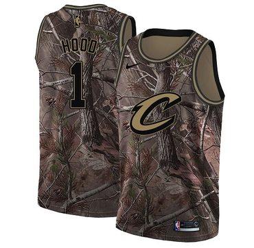 Nike Cavaliers #1 Rodney Hood Camo NBA Swingman Realtree Collection Jersey