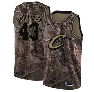 Nike Cavaliers #43 Brad Daugherty Camo NBA Swingman Realtree Collection Jersey
