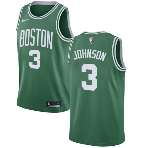 Nike Celtics #3 Dennis Johnson Green NBA Swingman Icon Edition Jersey