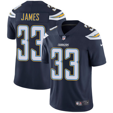 Nike Chargers #33 Derwin James Navy Blue Team Color Youth Stitched NFL Vapor Untouchable Limited Jersey