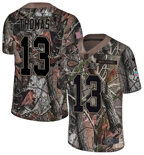 Nike Chiefs #13 De'Anthony Thomas Camo Men's Stitched NFL Limited Rush Realtree Jersey