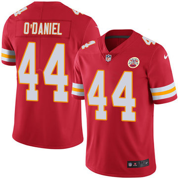 Nike Chiefs #44 Dorian O'Daniel Red Team Color Men's Stitched NFL Vapor Untouchable Limited Jersey