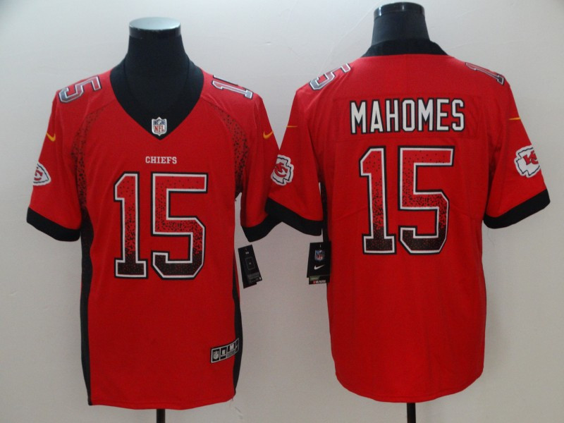 Nike Chiefs 15 Patrick Mahomes Red Drift Fashion Limited Jersey