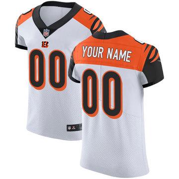 Nike Cincinnati Bengals Elite White Road Men's Jersey NFL  Vapor Untouchable Customized jerseys