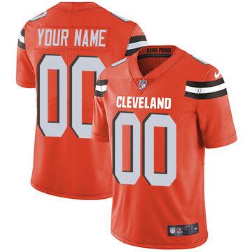 Nike Cleveland Browns Limited Orange Alternate Men's Jersey NFL Vapor Untouchable Customized jerseys