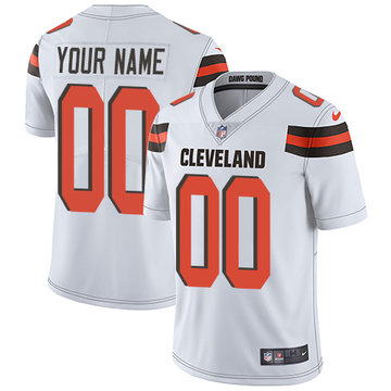 Nike Cleveland Browns Limited White Road Youth Jersey NFL  Vapor Untouchable Customized jerseys