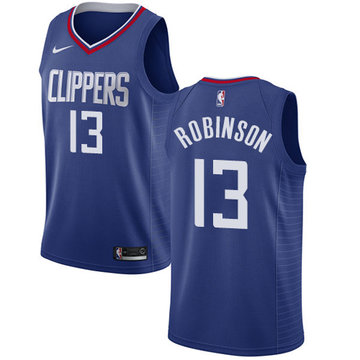 Nike Clippers #13 Jerome Robinson Blue NBA Swingman Icon Edition Jersey