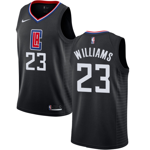 Nike Clippers #23 Louis Williams Black NBA Swingman Statement Edition Jersey
