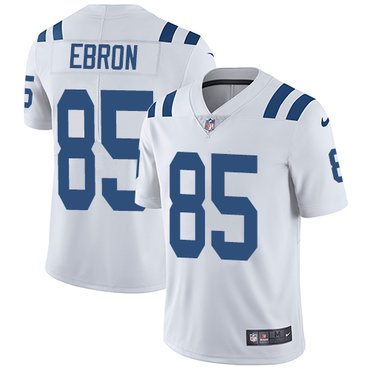 Nike Colts #85 Eric Ebron White Youth Stitched NFL Vapor Untouchable Limited Jersey