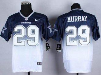 Nike Dallas Cowboys #29 DeMarco Murray Navy Blue White NFL Elite Fadeaway Fashion Jersey