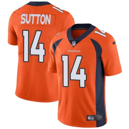 Nike Denver Broncos #14  Courtland Sutton Limited Orange Team Color Vapor Untouchable Jersey