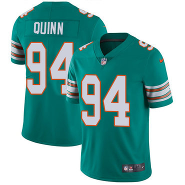 Nike Dolphins #94 Robert Quinn Aqua Green Alternate Youth Stitched NFL Vapor Untouchable Limited Jersey