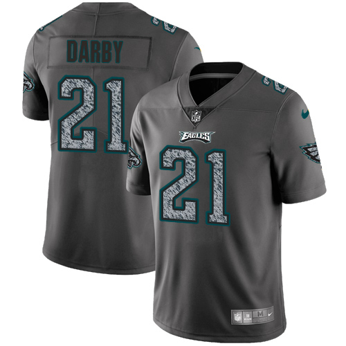 Nike Eagles #21 Ronald Darby Gray Static Men's Stitched NFL Vapor Untouchable Limited Jersey