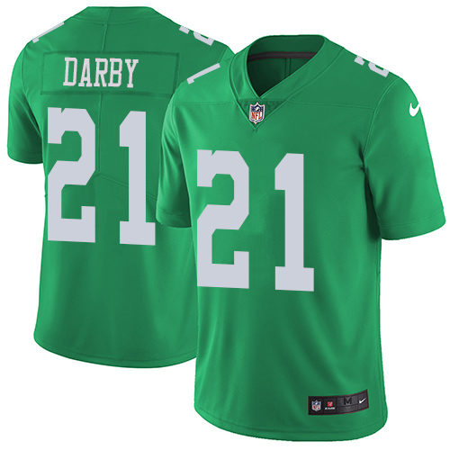 Nike Eagles #21 Ronald Darby Green Men's Stitched NFL Limited Rush Jersey