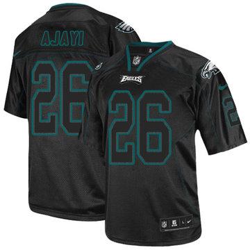 Nike Eagles #26 Jay Ajayi Lights Out Black Men's Stitched NFL Elite Jersey