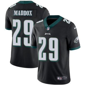 Nike Eagles #29 Avonte Maddox Black Alternate Men's Stitched NFL Vapor Untouchable Limited Jersey