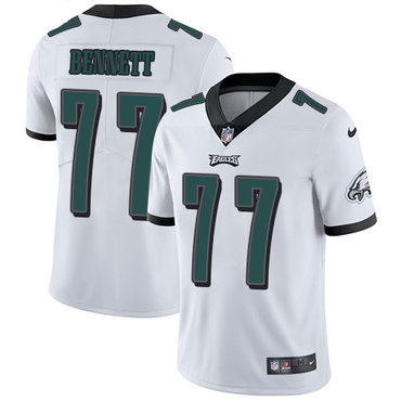Nike Eagles #77 Michael Bennett White Youth Stitched NFL Vapor Untouchable Limited Jersey