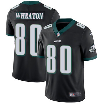 Nike Eagles #80 Markus Wheaton Black Alternate Men's Stitched NFL Vapor Untouchable Limited Jersey