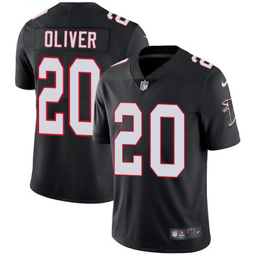 Nike Falcons #20 Isaiah Oliver Black Alternate Youth Stitched NFL Vapor Untouchable Limited Jersey