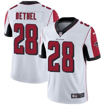 Nike Falcons #28 Justin Bethel White Men's Stitched NFL Vapor Untouchable Limited Jersey