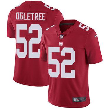 Nike Giants #52 Alec Ogletree Red Alternate Men's Stitched NFL Vapor Untouchable Limited Jersey