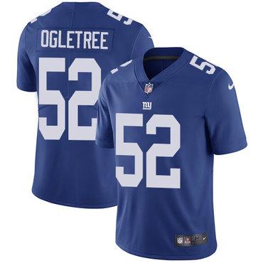 Nike Giants #52 Alec Ogletree Royal Blue Team Color Men's Stitched NFL Vapor Untouchable Limited Jersey