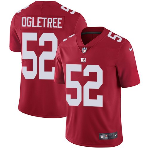 Nike Giants 52 Alec Ogletree Red Alternate Youth Vapor Untouchable Limited Jersey